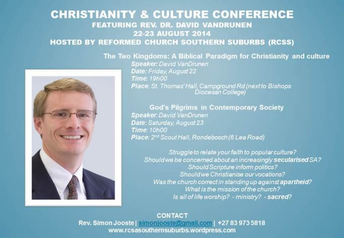 Christianity & Culture Conference Flyer - A4